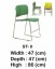 Kursi Bar & Cafe Indachi Type ST-II