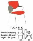 Kursi Kuliah Indachi Type Tuca III K