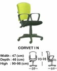Kursi Staff & Sekretaris Indachi Corvet I N