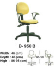 Kursi Staff & Sekretaris Indachi D-950 B