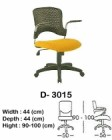 Kursi Staff & Sekretaris Indachi D-3015
