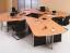 Meja Staff 4 Orang