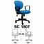 Kursi Sekretaris Chairman Type SC 1507