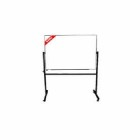 Papan Tulis (Whiteboard) Stand Double Face Sanko 60 x 90 cm