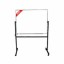 Papan Tulis (Whiteboard) Stand Single Face Sanko 90 x 120 cm